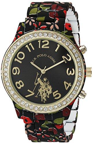 U.S. Polo Assn. Women's Quartz Metal and Alloy Watch, Color:Two Tone (Model: USC40108)