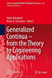 Generalized Continua from the Theory to Engineering Applications, , 3709113709