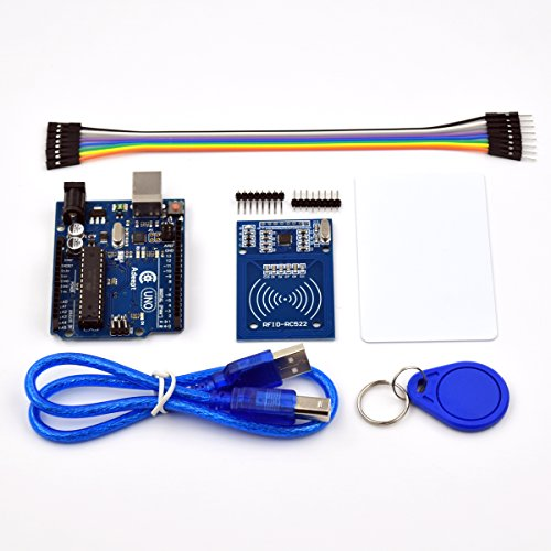 3 with RC522 RFID Reader Starter Kit with User Manual for Arduino Raspberry Pi ()