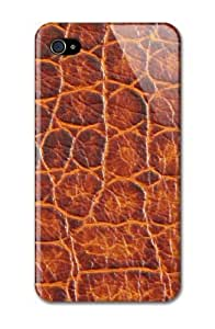 Case Fun Apple iPhone 4 / 4S Case - Vogue Version - 3D Full Wrap - Crocodile Skin