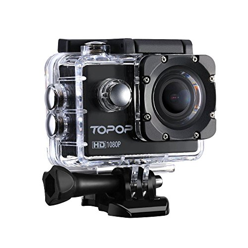 Action-Camera-Topop-20-Inch-1080P-30fps-Full-HD-Sports-Camera-with-Waterproof-170-Wide-Angle-Lens-12MP-Action-Camcorder-Mount-Accessories-Kits-for-Biking-Motorcycle-Surfing-Diving-Swimming-Skiing-Outd