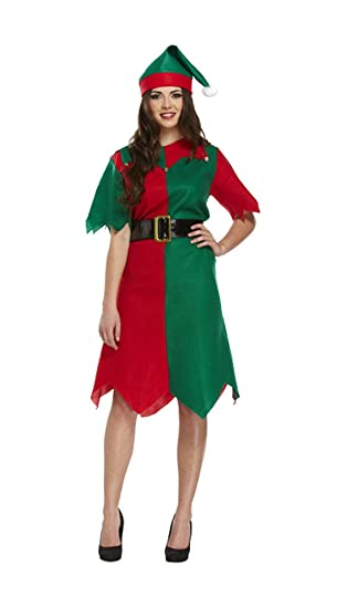 Alta calidad Adulto Unisex Navidad Papá Noel Padre disfraz elfo ...