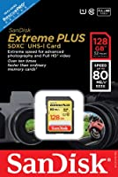 SanDisk Extreme SDXC Class 10 UHS-1 Flash Memory Card 80MB/s from SanDisk