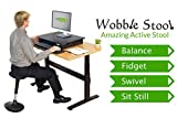 Wobble Stool Standing Desk Chair for Active Sitting