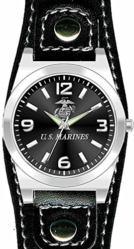 U.S. Marine Corps Slim Strap Wrist - Chrome Frontier Watch