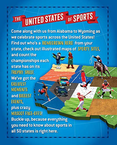 The United States of Sports: An Atlas of Teams, Stats, Stars, and Facts for Every State in America (A Sports Illustrated…