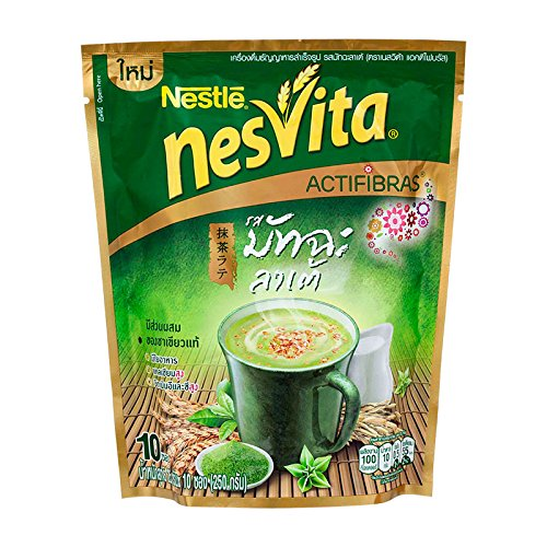 nesvita-actifibras-milk-beverage-mixed-with-wholegrain-cereal-matcha-latte-250-g-pack-of-1-unit-best