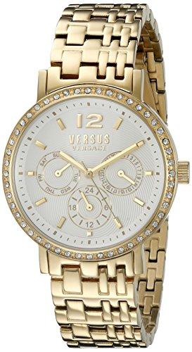 Versus-by-Versace-Womens-SOR120015-MANHASSET-Analog-Display-Quartz-Gold-Tone-Watch
