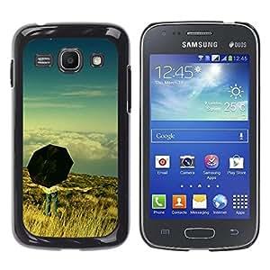 Be Good Phone Accessory // Dura Cáscara cubierta Protectora Caso Carcasa Funda de Protección para Samsung Galaxy Ace 3 GT-S7270 GT-S7275 GT-S7272 // Umbrella Thought Deep Meaning Sky