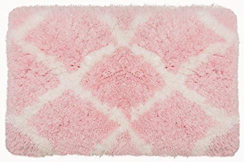 Home Dynamix Nicole Miller Casey Kallik Area Rug 26 x44 , Solid Light Pink