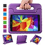 NEWSTYLE Samsung Galaxy Tab 4 8.0 Shockproof Case Light Weight Kids Case Super Protection Cover Handle Stand Case for Kids Children For Samsung Galaxy Tab 4 8-inch SM-T330 SM-T331 SM-T335 - Purple