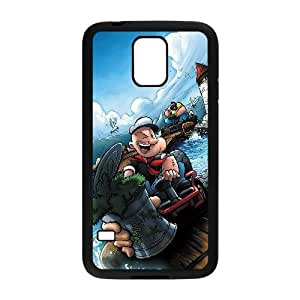 samsung galaxy s5 Phone case Black Popeye the sailor TRPP4568065