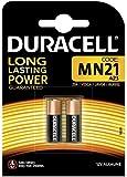 Duracell MN21-2 12V MN21 23A V23GA - Baterías alcalinas (pack de 2 , 12 voltios, 50mAh)