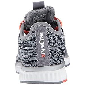 adidas Performance Women's Edge Lux 2 Running Shoe, Grey Three/Metallic Silver/Easy Coral, 10.5 Medium US