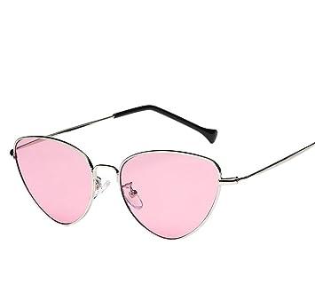 Lunettes de soleil Eye Elyseesen Femmes hommes été Vintage rétro Cat Eye Glasses lunettes de soleil unisexes (noir) l3MlPiYN