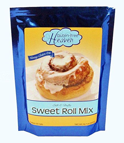 Sweet Cinnamon Rolls (Gluten-Free Sweet Roll Mix)