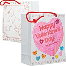Ready-to-Decorate Collect And Carry Valentine's Day Bags