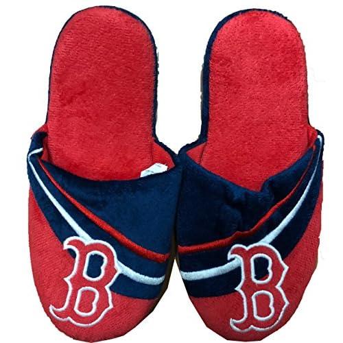 Forever MLB Boston Red Sox Men's Team Slippers
