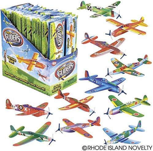 Amazon.com: Aviones planeadores Rhode Island Novelty, 24 ...