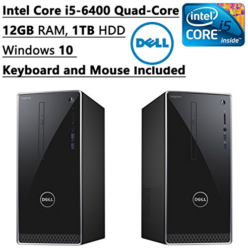 Dell-2016-Inspiron-Flagship-High-Performance-Desktop-PC-Intel-Core-i5-6400-Quad-Core-330-GHz-12GB-RAM-1TB-HDD-DVDCDRW-Bluetooth-WIFI-Windows-10-Keyboard-and-Mouse-Included