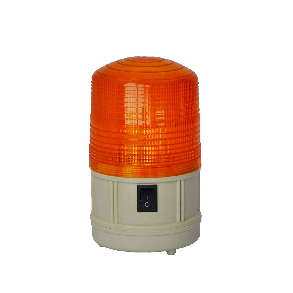LTD-5088 LED Personal Safety Light with Magnetic Mount Battery Operated Amber Strobe Warning Light