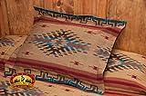 Mission Del Rey Southwest Bedding Collection - Isleta Tan & Brown -Sham 24''x28''