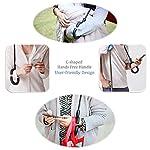 AWEOODS Inverted Umbrella Windproof Reverse Folding Double Layer Travel Umbrella with C Shape Handle