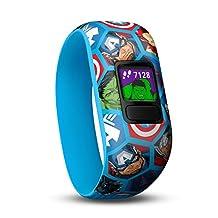 Garmin 010-01909-02 Vivofit Jr. 2-Stretchy Avengers Fitness GPS