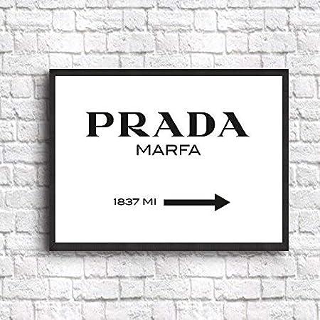 Prada Marfa Sign Póster, papel, 50 x 70 cm