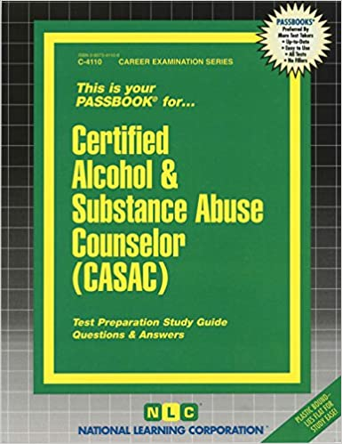 Amazon.com: Certified Alcohol & Substance Abuse Counselor (CASAC ...