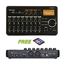 Tascam DP-008EX 8-Track Digital Recorder with a Free 32GB Patriot SD Card