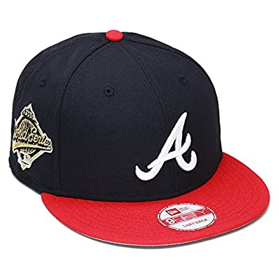 New Era 9fifty Atlanta Braves Snapback Hat Cap 1995 World Series Patch