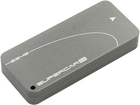 JEYI i9 GTR NVME Aluminio Tipo C 3.1 Caja HDD móvil Caja HDD óptima Carcasa SSD Tipo C3.1 RTL9210 M. 2 USB3.1 M.2 PCIE SSD U.2 PCI-E (Apoyo 2242): Amazon.es: Electrónica
