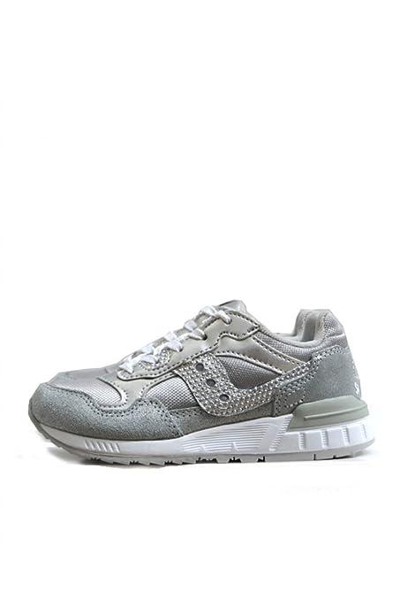 Saucony Scarpe Bambina Ragazza Girls Shadow 5000 SC53725 Sneaker Lacci  Argento  Amazon.it  Scarpe e borse 821f1ef70bd