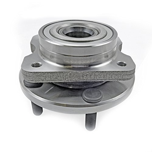 CRS NT513123 New Wheel Bearing Hub Assembly, Front Left (Driver)/ Right (Passenger), for Chrysler (Grand) Voyager/Prowler/Town & Country, Dodge (Grand) Caravan, Plymouth Prowler/ (Grand) Voyager (Plymouth Voyager Hub Front)