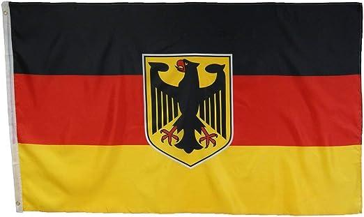 Abasonic 16122 - Bandera de Alemania, con águila, 90 x 150 cm ...