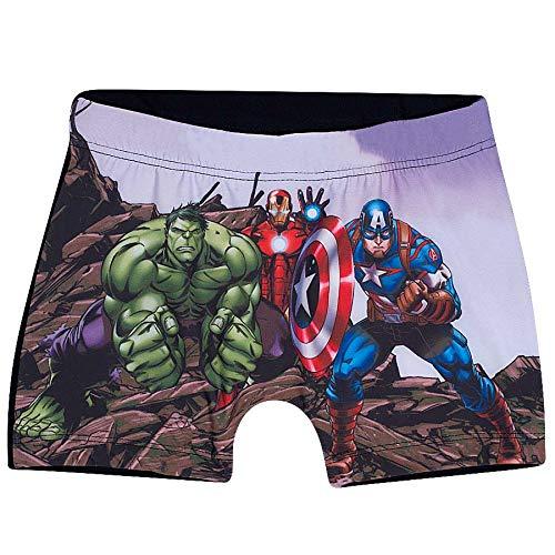 Shorts Praia Avengers TipTop Preto