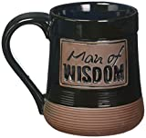 Man of Wisdom Pottery Mug