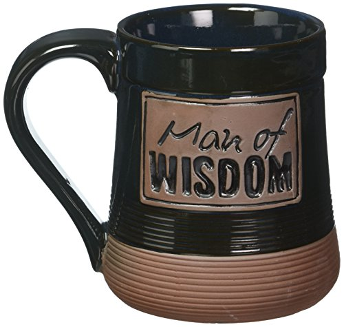 Man of Wisdom Pottery Mug by Abbey Press