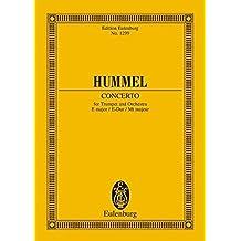 Concerto in E Major: for Trumpet and Orchestra