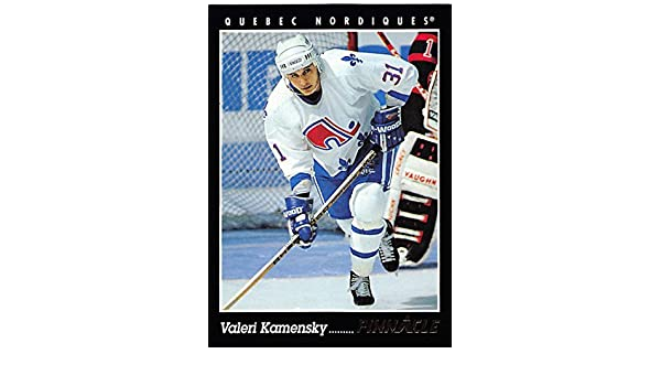 3c54b71dd16 Amazon.com  1993-94 Pinnacle Valeri Kamensky  244 Nordiques  Collectibles    Fine Art