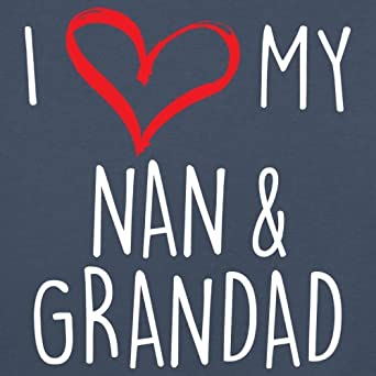 3-24 Months 7 Colours I Love My Nan and Grandad Baby T-Shirt