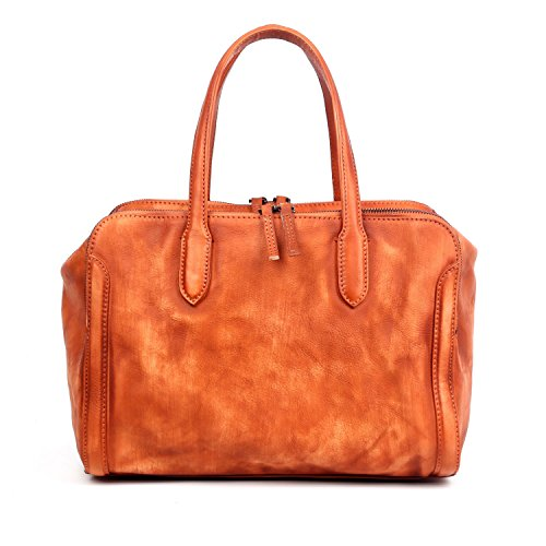 old-trend-leather-satchel-handbag-spring-meadows-purse-cognac