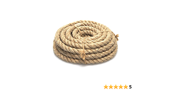 4-Inch Homeford Firefly Imports Natural Jute Roll 4 10 Yards