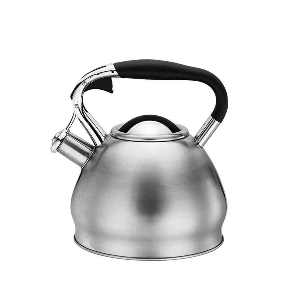 Kessel 304 Edelstahl Wasserkocher Hause Gas Gas Elektroherd Wasserkocher Whistle Trinkflasche UOMUN