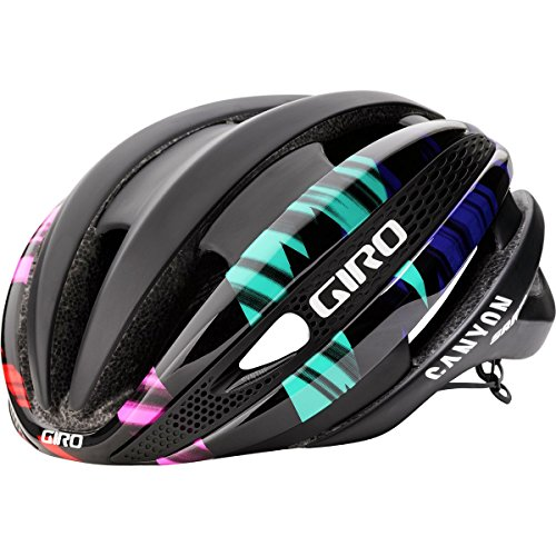 Giro Synthe MIPS Limited Edition Helmet Matte Black/Canyon SRAM, - Sunglasses Giro