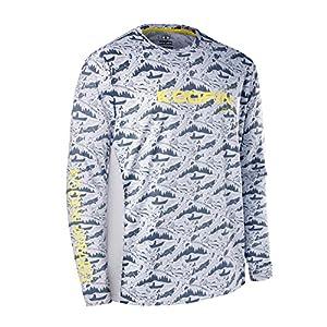 Performance Fishing Shirt UPF 50+ Dri Fit Men's Tech Long Sleeve Shirt