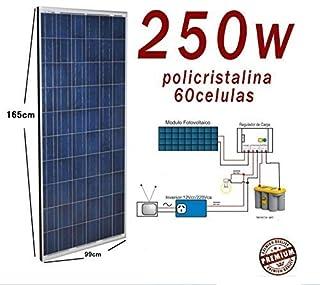 Placa solar 250w panel solar Fotovoltaico Polycrystalline