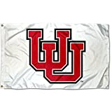 College Flags and Banners Co. Utah Utes Whiteout Retro Flag For Sale