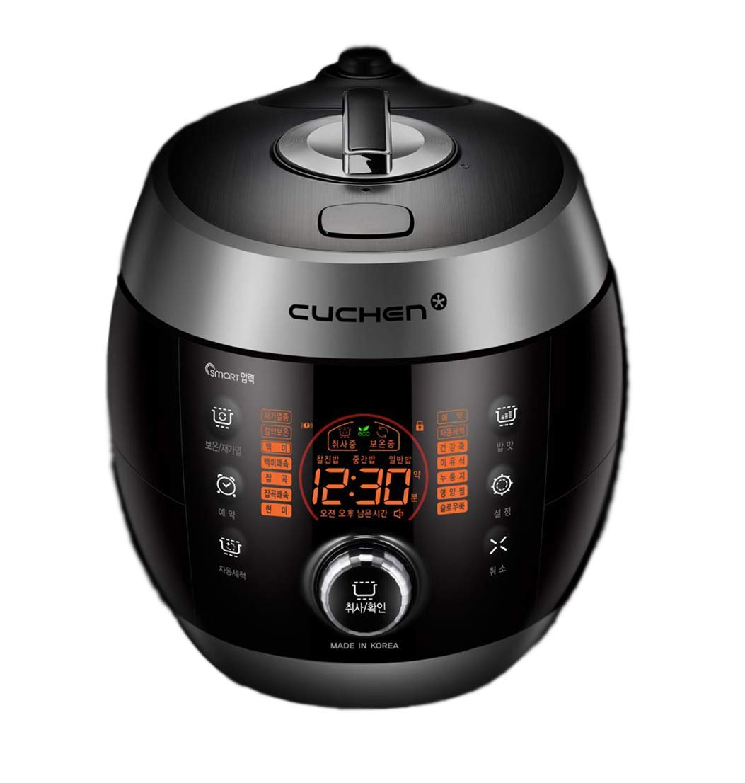Cuchen Multi Pressure Rice Cooker 6cup CJS-FD0605RVUS (Silver)